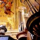 Detail aus dem Orgelprospekt