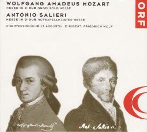 CD MozartOrgelsolo+SalieriHofkap