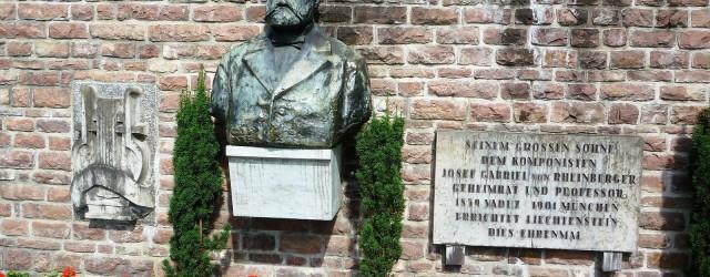 Rheinberger-Denkmal