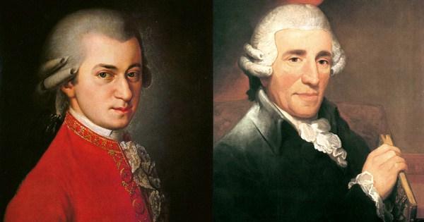Mozart und Haydn