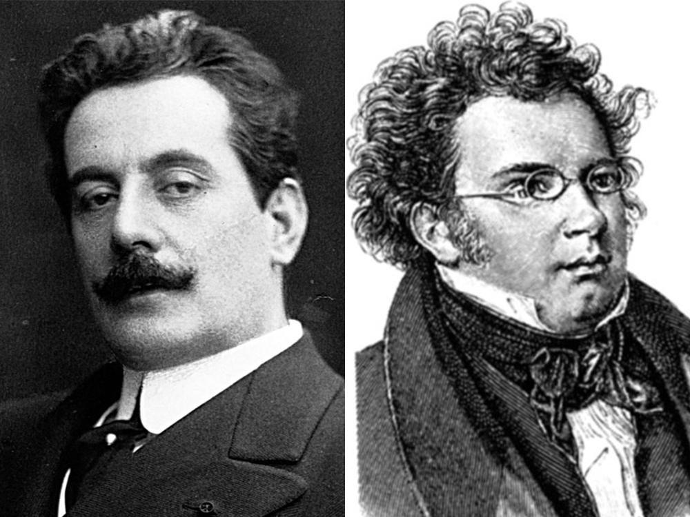 Puccini und Schubert