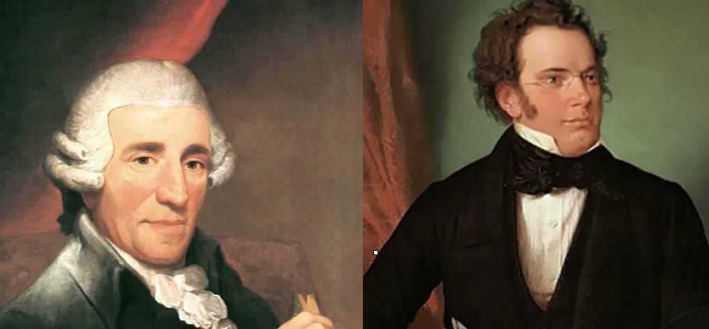 Haydn und Schubert